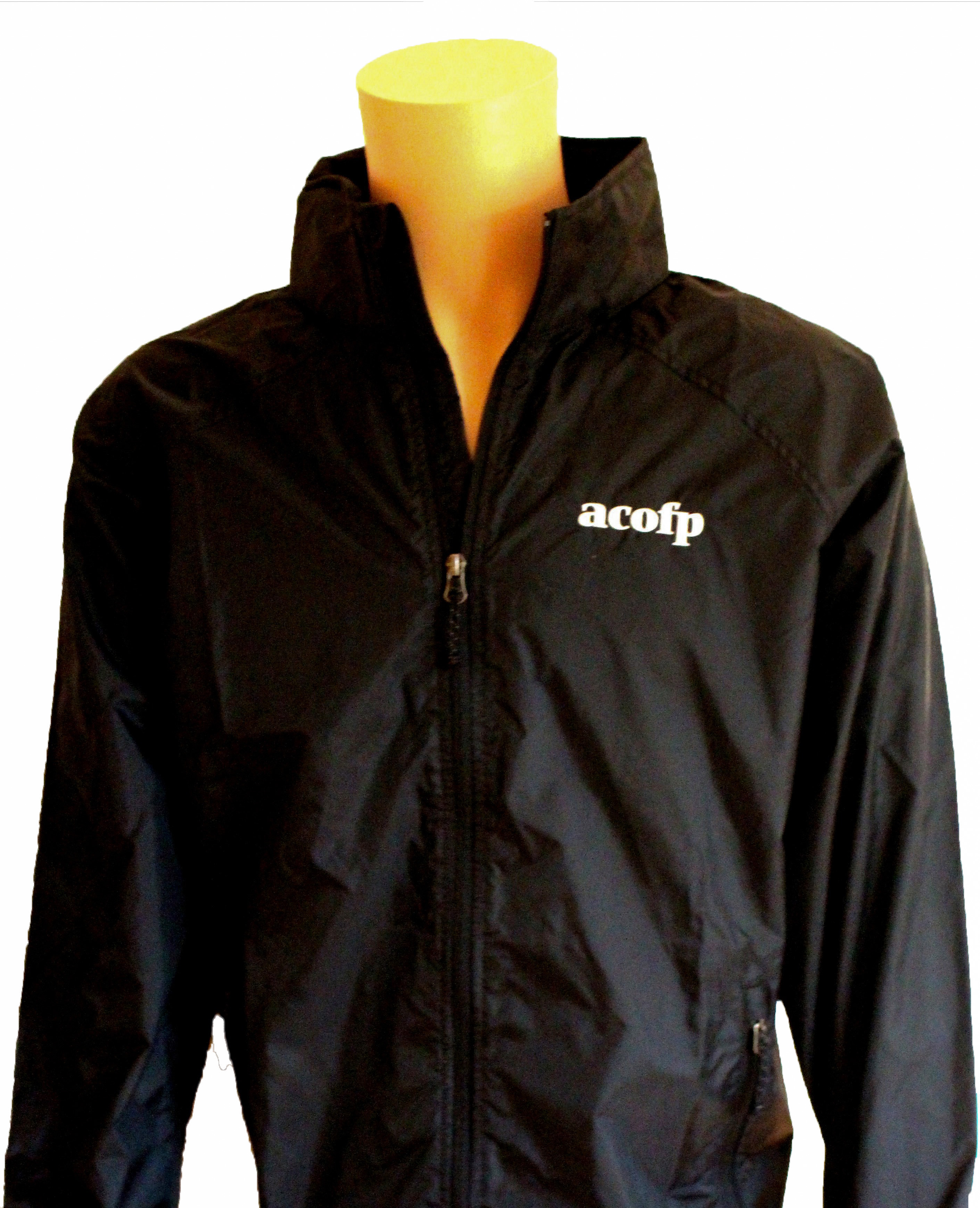 Men's Windbreaker Jacket Black (3XL)
