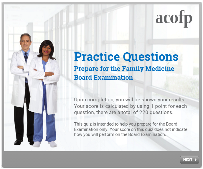 Practice Questions for the Board Exam Prep - 2016