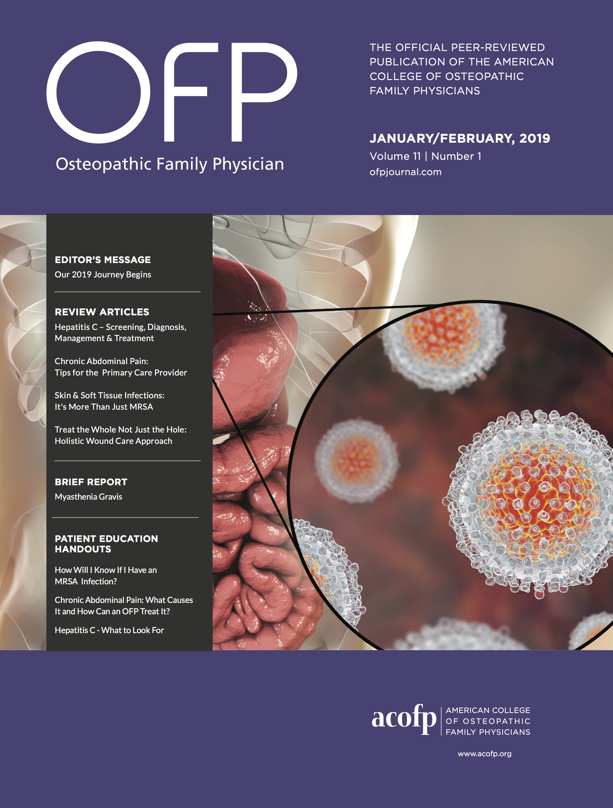 January/February 2019 OFP CME Quiz